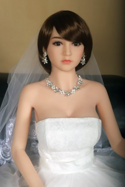Sex Dolls 5ft 5in 165cm Silicone Sex Doll Japanese Lifelike Love Doll with Metal Skeleton