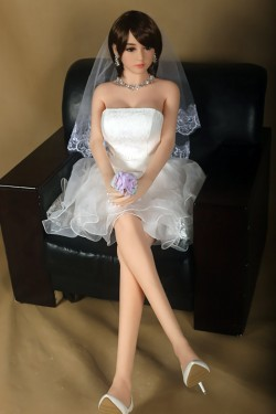 GPDOLL Sex Dolls 5ft 5in 165cm Silicone Sex Doll Japanese Lifelike Love Doll with Metal Skeleton