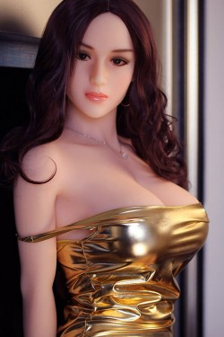 GPDOLL Sex Dolls 5ft 3in 161cm Silicone Sex Doll Japanese Lifelike Love Doll with Metal Skeleton