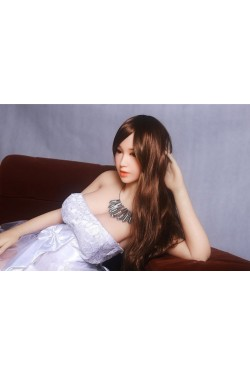 GPDOLL Sex Dolls 5ft 4in 163cm Silicone Sex Doll Japanese Lifelike Love Doll with Metal Skeleton