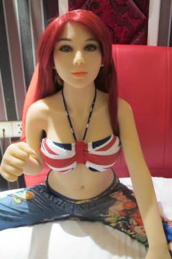 GPDOLL Sex Dolls 4ft 1in 125cm Doll Sexy Adult Sex Toys Silicane Dolls with Metal Skeleton