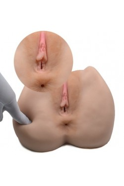Virgin Pussy Ass Doll -3D Realistic Silicone Masturbator Ass Vagina Anal for Male Masturbation Sex Toys