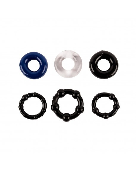 Premium Quality Silicone Cockrings for Sex Improved Stimulation for the Penis and Harder Erections Cockring Set The Best Sex Toy