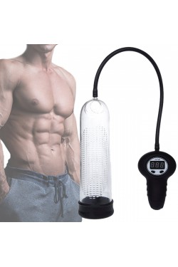 350 Kpa Digital Display Extender Penis Pump Cock Penis Ring Enlargement Vacuum Pump