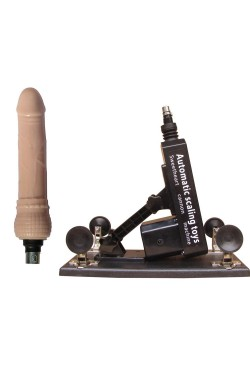 Love Sex Machine Pumping & Thrusting Adjustable Dildo Telescopic Fast Thrust Masturbation Toy