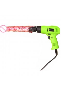 Handheld Electric Drill Sex Machine 8 Speed Automatic Thrusting Love Machine Gun Sex Furniture with Lithium Battery+Dildo